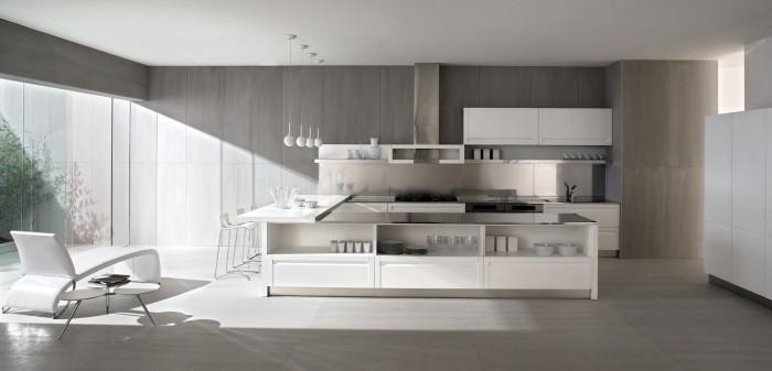 آشپزی در آشپزخانه مدرن