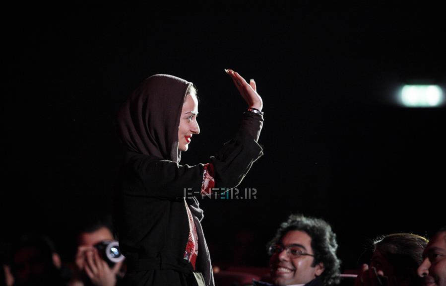 عکس جدید نفیسه روشن در کنسرت محمد علیزاده