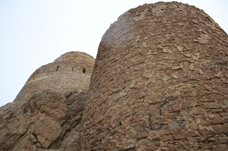قلعه منصور کوه  دامغان