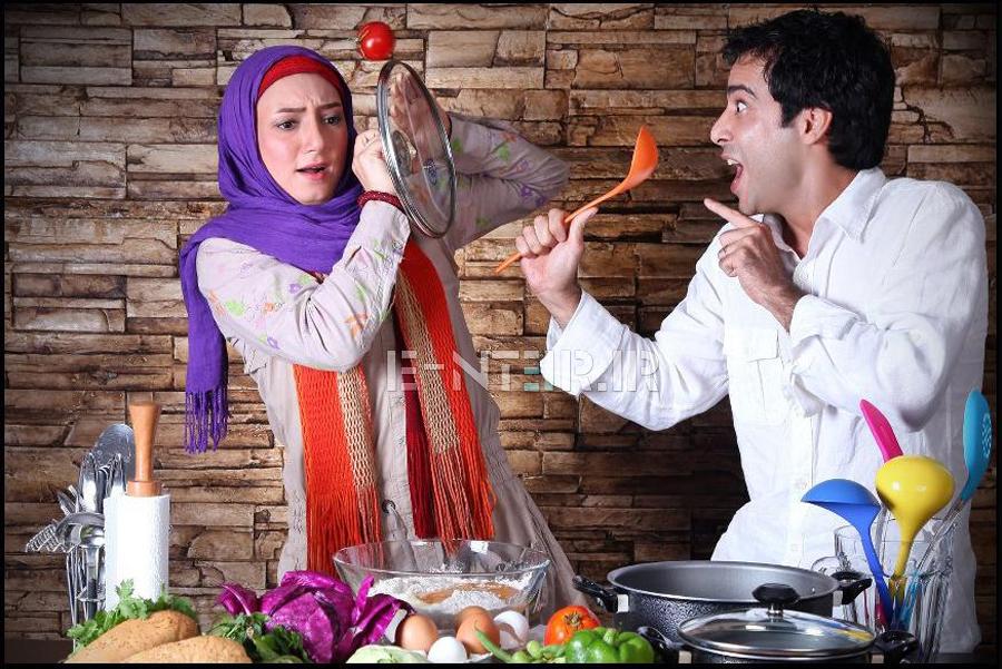 عکس های جدید بازیگران با همسرانشان
