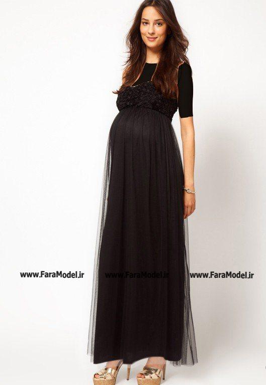 مدل لباس مجلسی بارداری شیک 2013