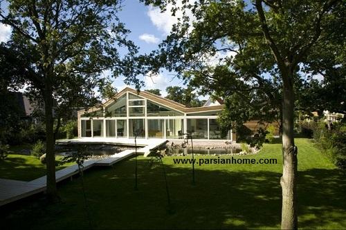 معماری مدرن ویلا در هلند