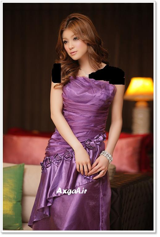 wholesale dress 3211purple2 مدل های لباس شب دخترانه