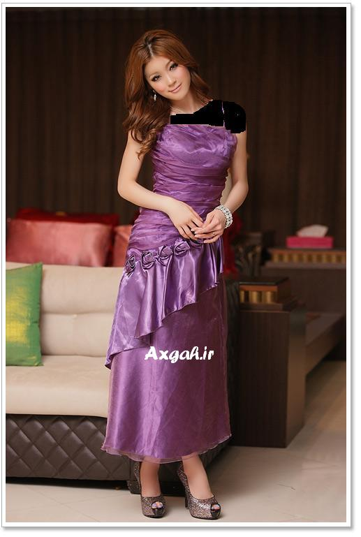 wholesale dress 3211purple5 مدل های لباس شب دخترانه