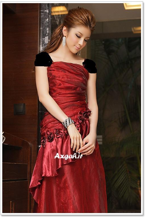 wholesale dress 3211red2 مدل های لباس شب دخترانه