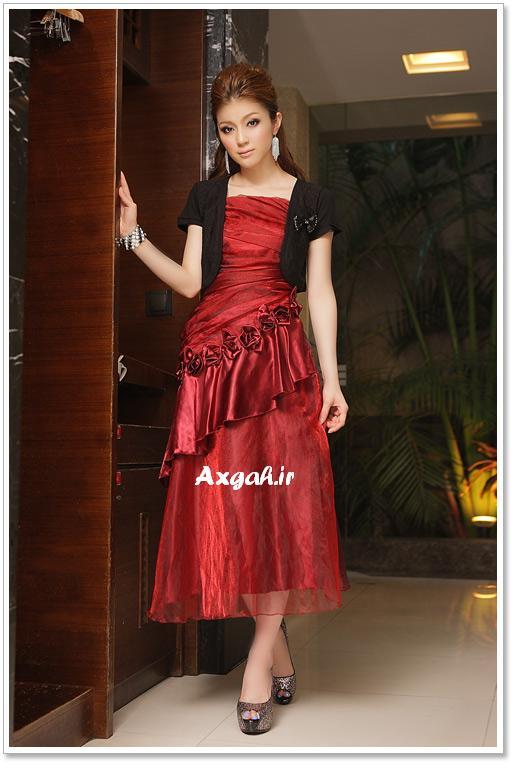 wholesale dress 3211red4 مدل های لباس شب دخترانه