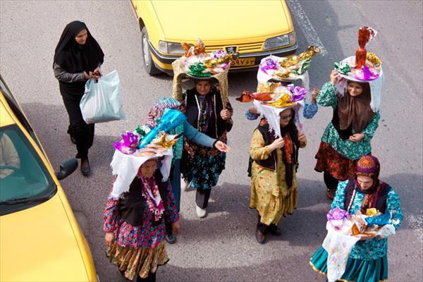 نوروزخوانی در گاهنوشتهای محمود زارع