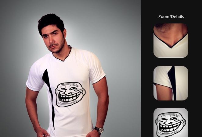 خرید تی شرت ترول خندان