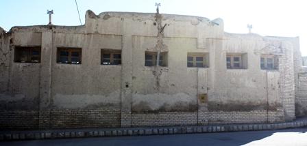 دیوار عمارت اشن از توی خیابون
