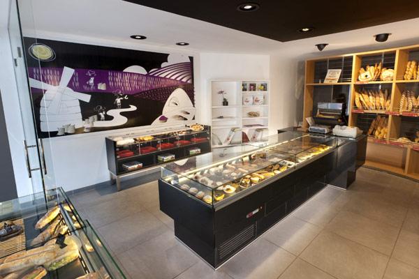 نمونه کار طراحی فروشگاه طبخ نان فانتزی