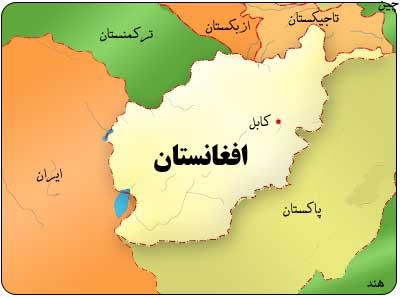 نقشه کشور افغانستان ؛ نقشه خاورمیانه