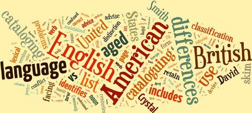 American vs. British vocabulary - تفاوت واژگان انگلیسی بریتانیایی و آمریکایی