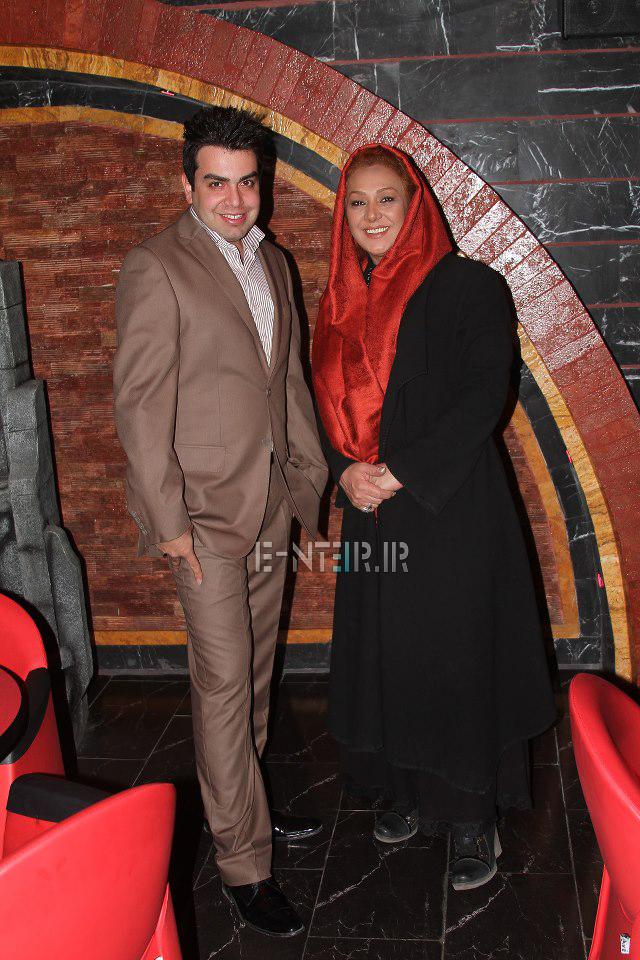 جدید ترین عکس های نسرین مقانلو در پشت صحنه برنامه خوشا شیراز