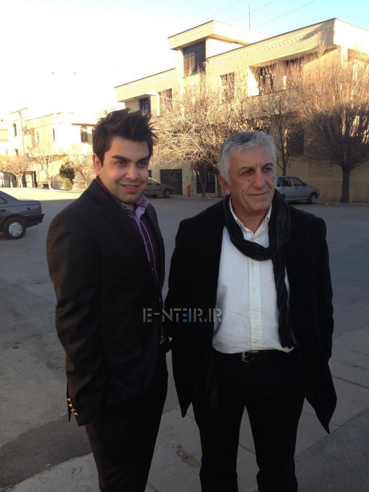 عکس جدید رضا کیانیان در پشت صحنه برنامه خوشا شیراز