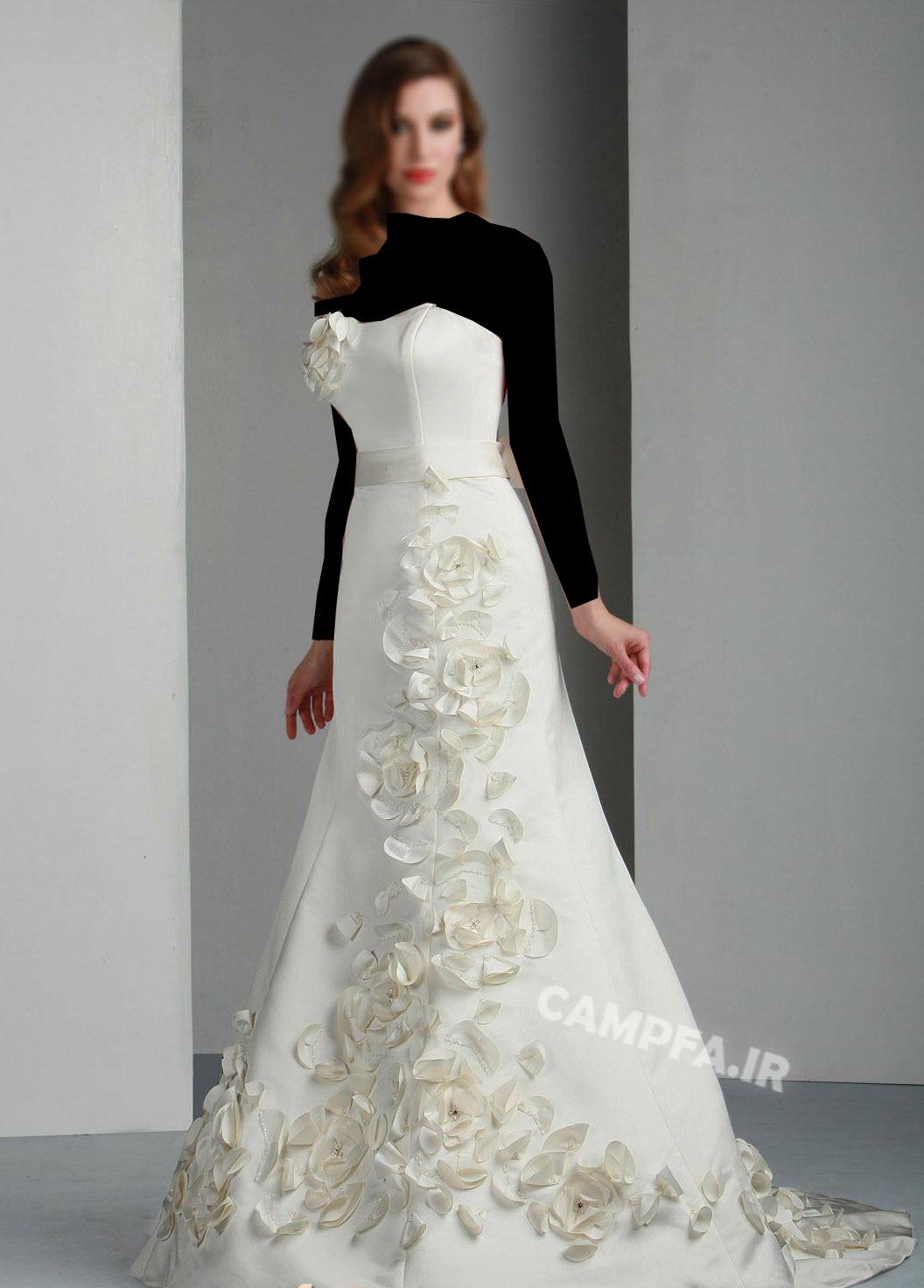 ژورنال لباس عروس اروپایی 2013