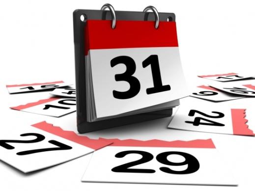 calendar 31 days month - تقویم 31 روزه ماه - روزشمار - گاهشمار