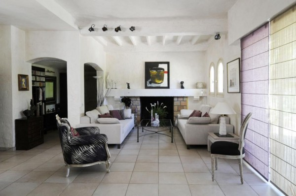 خانه ای سنتی و سبز در فرانسه