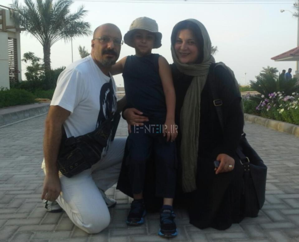 عکس شخصی و جدید ریما رامین فر و همسرش امیر جعفری