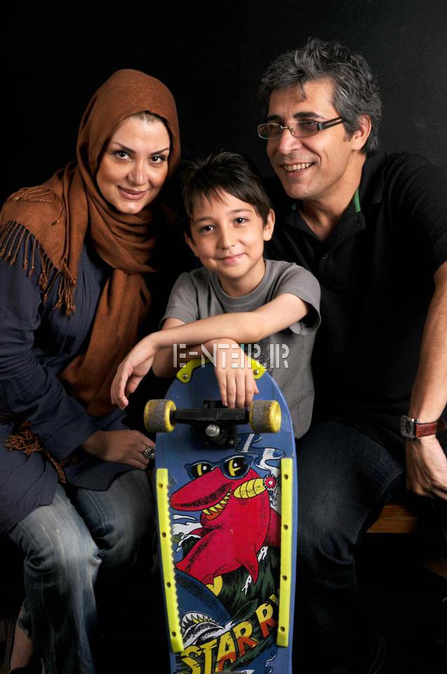 عکس جدید امیر غفار منش و همسرش