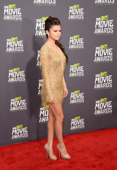 """سلنا گومز در """"mtv movie awards 2013"""""""