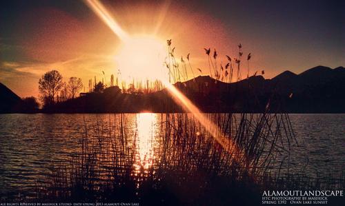 دریاچه اوان در الموت قزوین