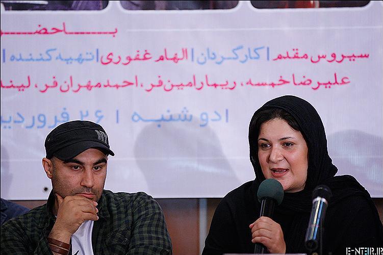 عکس های ریما رامین فر و محسن طنابنده در مراسم تقدیر از سریال پایتخت 2