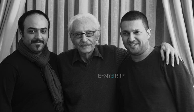 عکس جدید حامد بهداد و جمشید مشایخی