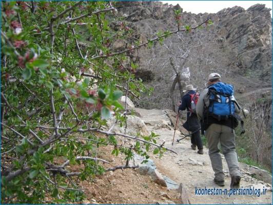 مسیر کوهپیمایی درکه
