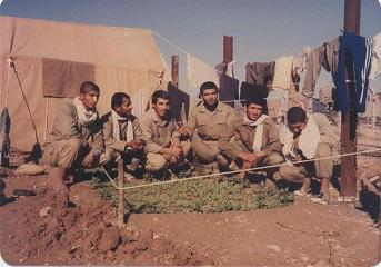 باغچه دسته الحدید و شهیدان معتقد،غلامحسین بهبهانی،حیدر زحمتیان و نظر کشتکاران