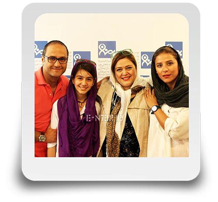 عکس جدید سحر دولتشاهی و همسرش و بهاره رهنما و دخترش