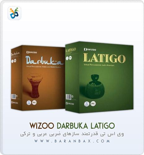 دانلود وی اس تی سازهای کوبه ای شرقی و آمریکایی Wizoo Darbuka Latigo