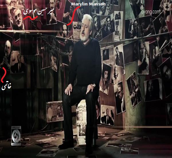 خاتمی و میر حسین موسوی