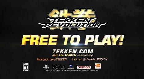 دانلود تریلر بازی Tekken Revolution E3 2013