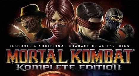 دانلود کرک بازی Mortal Kombat Komplete Edition