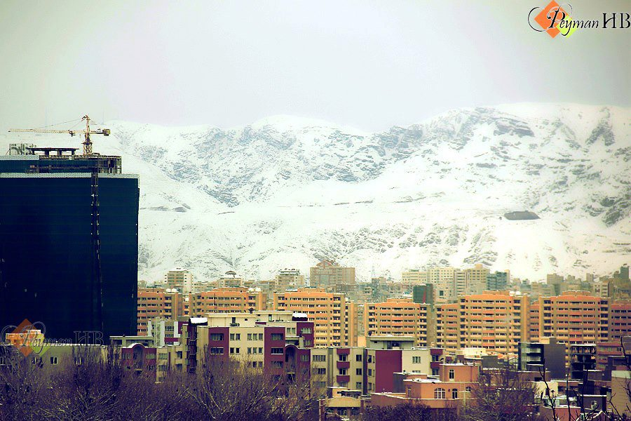 زمستان تبریز