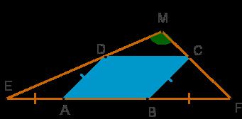 مثلث و متوازی الاضلاع