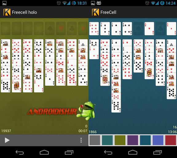 دانلود بازی کارت برای اندروید Freecell 0.1.0