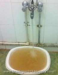 وضعیت آب مصرفی شادگان - رهگذر آشنا