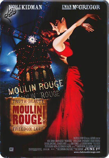 moulin rouge  دانلود فیلم Moulin Rouge! 2001