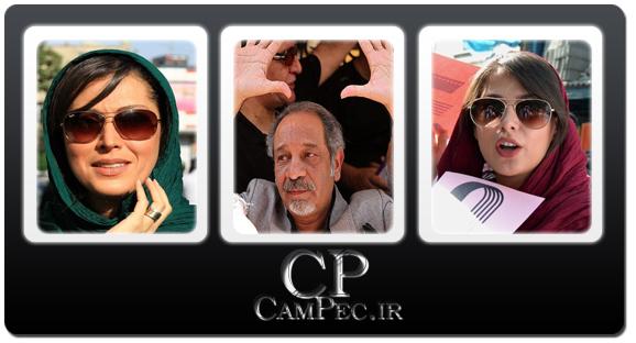 عکس های تجمع سینماگران مقابل خانه سینما