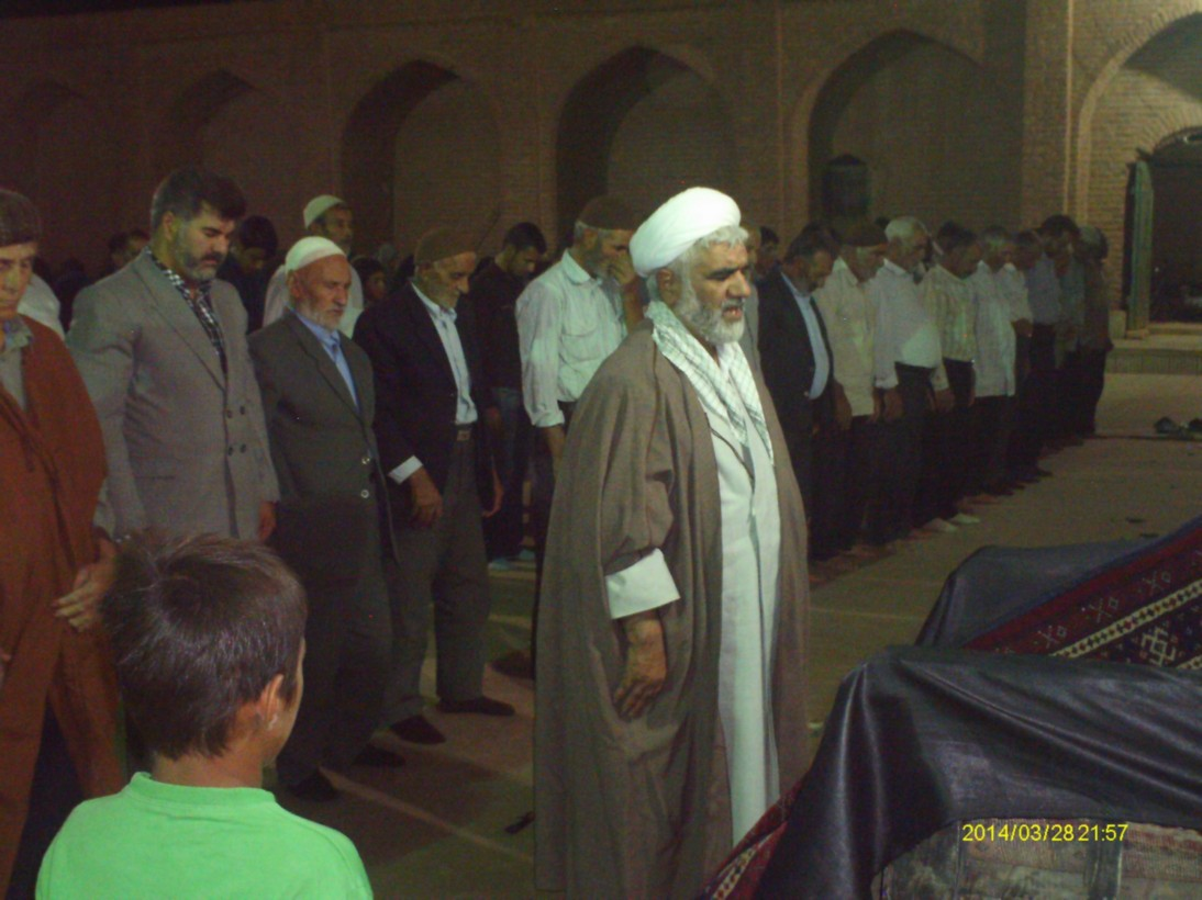 حجت الاسلام و لمسلیمن مداحی