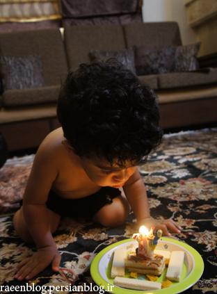 عکس تولد رایین