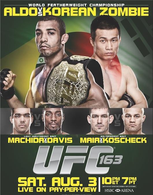 دانلود یو اف سی 163 | UFC 163 : Aldo vs. Korean Zombie