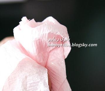 توپ گل رز کاغذی