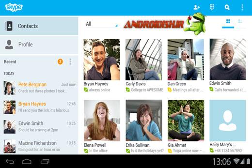 دانلود مسنجر فوق العاده اسکایپ Skype – free IM & video calls 4.0.0.22082 برای اندروید