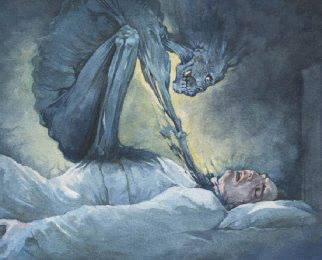 شما هم تا به حالا فلجی در خواب یا همون بختک گرفتار شدین ؟؟