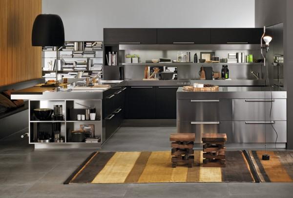 نمونه کار طراحی آشپزخانه به شیوه ایتالیایی