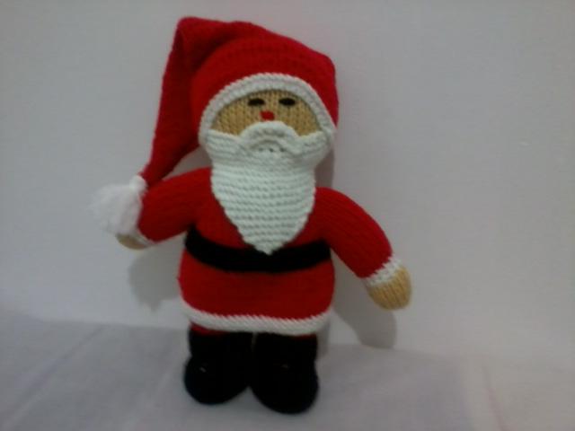 عروسک بافتنی بابانوئل