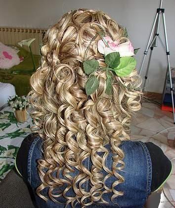 انواع مدل موی فر شده با بابلیس طرح زنانه و دخترانه