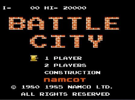 بازی Battle city